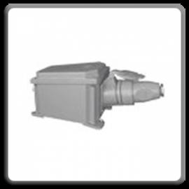Priză şi fişă pentru sudura cu 5 contacte 63A/500V