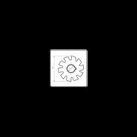 Semi-concave milling